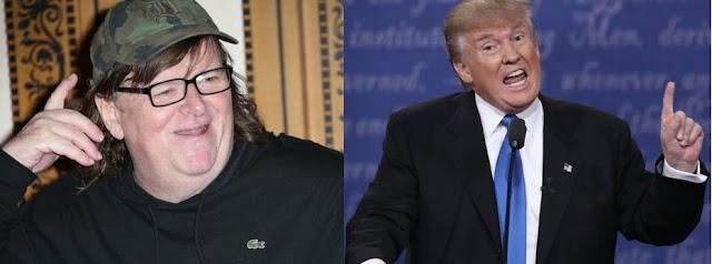 Cineasta Michael Moore cree Trump ganó el debate a Clinton y ganará elecciones de E.U