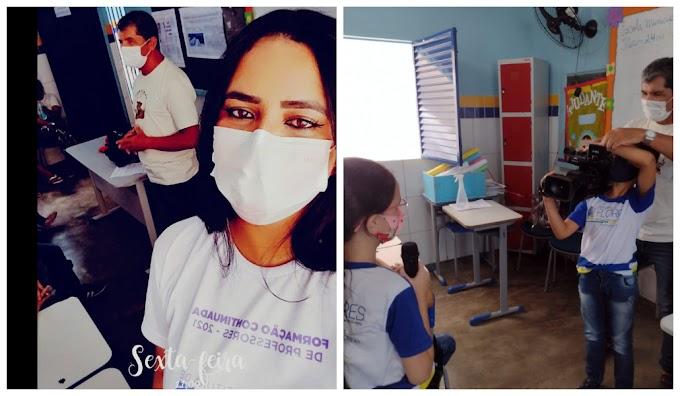 FLORES: Alunos da Escola Antônio Luiz de Albuquerque recebem palestra sobre jornalismo