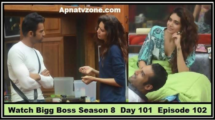 Bigg boss season 4 final episode - What do the two faces in
