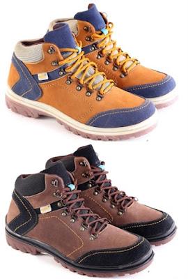 Sepatu Boots Pria Model Keren  L 147