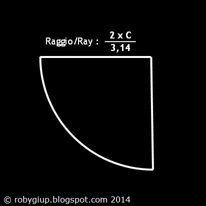 Sovrapponete di 1cm i due lati diritti della forma appena tagliata e  cuciteli insieme 8980868f6aba