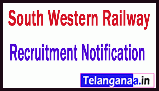 South Western Railway SWR Recruitment Notification