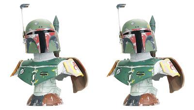 Star Wars: Empire Strikes Back Boba Fett Legends in 3D Resin Bust by Gentle Giant