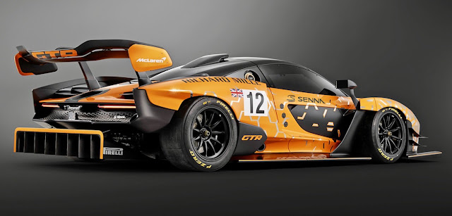 マクラーレン・セナにさらに高性能な「GTR」が登場?テスト車両が目撃される。