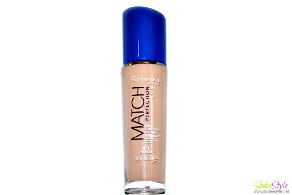 Rimmel london match perfection foundation Review-Swatch