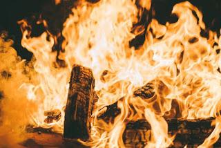Bonfire - Photo by Connor Jalbert on Unsplash