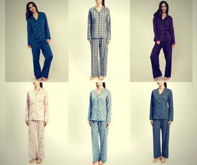 Marca de Pijamas Femininos de Luxo Derek Rosa