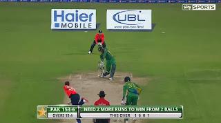 Shoaib Malik 75 - Pakistan vs England 3rd T20I 2015 Highlights