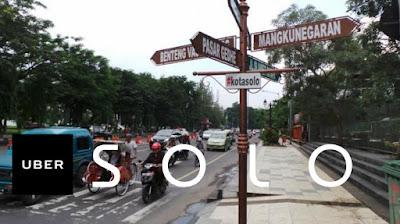 alamat kantor Uber di Solo / Surakarta