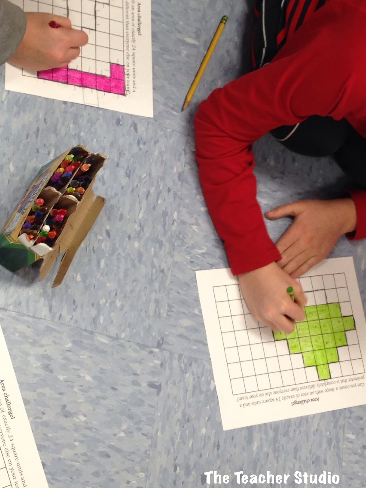 Cooperative work in math is so important as it gets students using accountable math talk, problem solving, and more.  This post shows a great cooperative math task to work on area and perimeter concepts.  Common Core area and perimeter, grade 3 Common Core, grade 4 Common Core