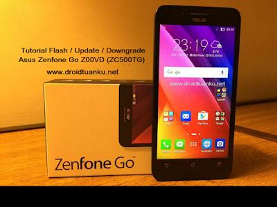 Cara Downgrade Asus Zenfone Go Z00VD (ZC500TG) Tanpa PC