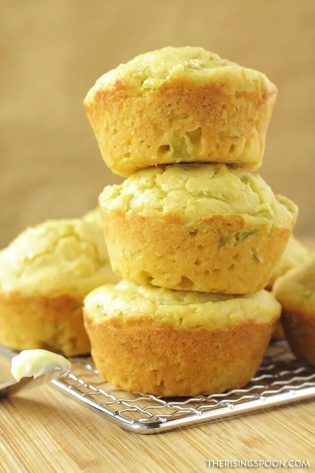Easy Honey Cornbread Muffins Recipe (Moist Jiffy Copycat)