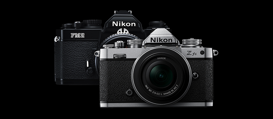 Nikon ZFc and FM2