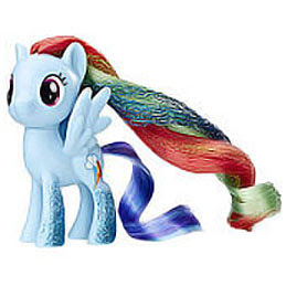 My Little Pony Party Friends Rainbow Dash Brushable Pony