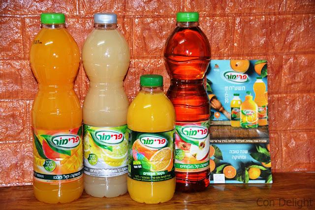 משקאות ונקטר פרימור sost drinks and nectar primor
