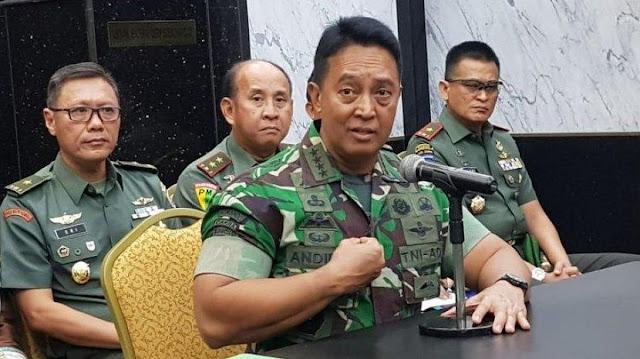 Terima Bantuan Dari Cap Lang, Jenderal Andika Perkasa: Untuk Mereka Di Garda Terdepan!