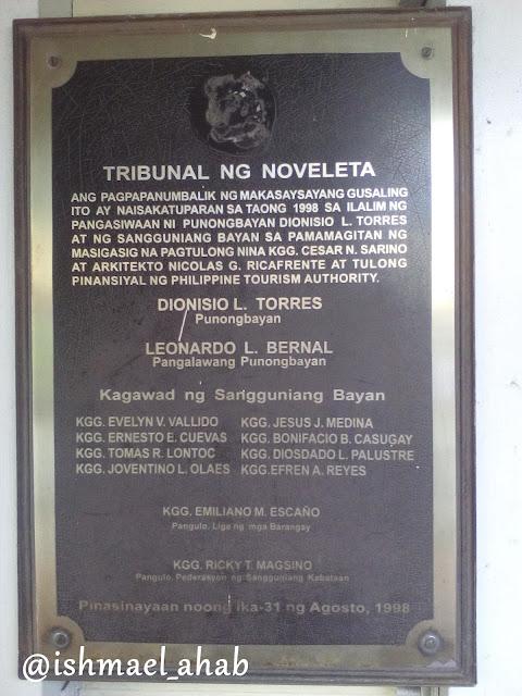 Tribunal ng Noveleta Marker