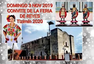 convite feria de reyes tizimín 2020