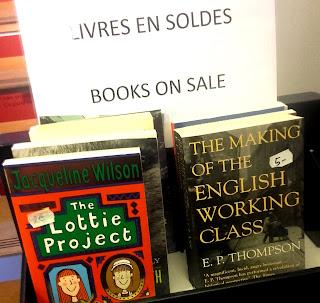Livres en solde en librairie