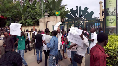 yabatech students shut down school toprotest Students of the moshood abiola polytechnic (mapoly), abeokuta, on monday protested the non-release of their examination results by locking the school.