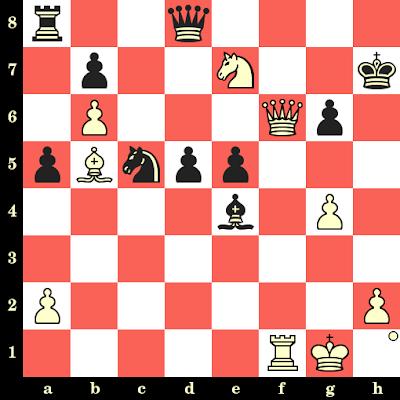 Les Blancs jouent et matent en 4 coups - Vassily Smyslov vs Werner Golz, Polanica Zdroj, 1968