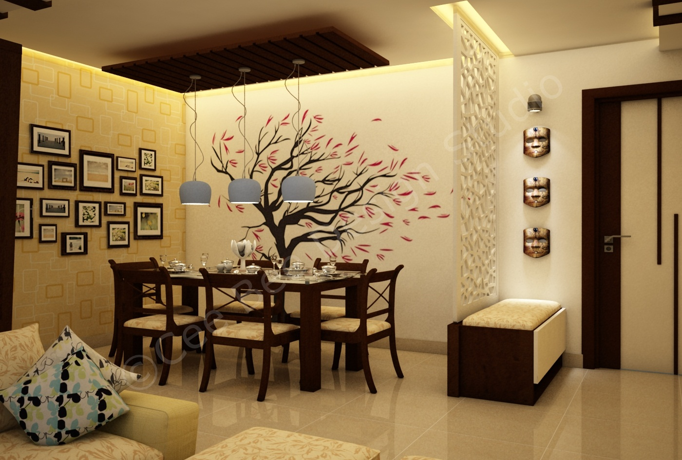 Creative Partition Wall Design Ideas Improving Open Small Spaces Dwell Of Decor  Best about Walls Extremely Useful