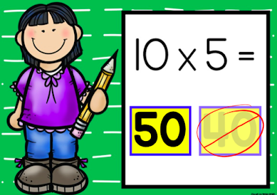Make distance learning easier with Boom Digital Learning FREE multiplication task cards for 2nd grade and 3rd grade math