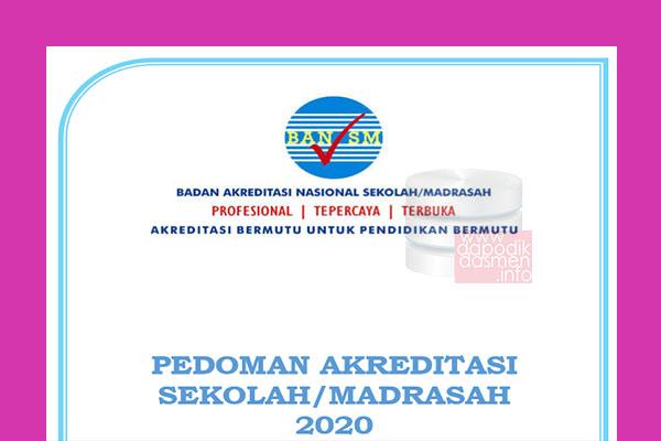 Pedoman Akreditasi sekolah/Madrasah Tahun 2020, Download Instrumen, Perangkat dan Pedoman Akreditasi Sekolah Madrasah (BANSM)
