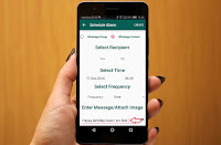 How to Send Scheduled WhatsApp Messages Easy No Root,schedule message for WhatsApp,WhatsApp scheduled messages for time & date,Scheduler for WhatsApp,WhatsApp contacts,date,time,automatic send message in whatsapp,auto set messages,conservation,• Schedule WhatsApp message for any time and date,auto send message on date,WhatsApp tips & tricks,birthday,greeting,emergency message,auto hide,auto send,reverse message,how to schedule message Send Scheduled WhatsApp Messages at selected data and time   Click here for more detail..