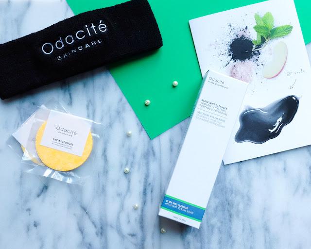 Review of Odacité's Black Mint Cleanser