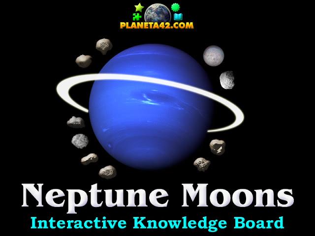 Астрономия с Игри - Луни на Нептун