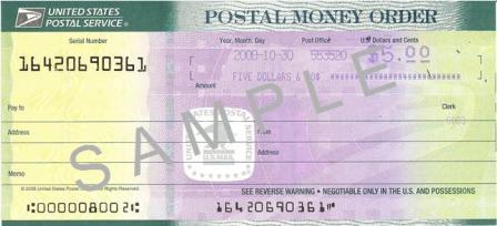 Resultado de imagen para money orders examples