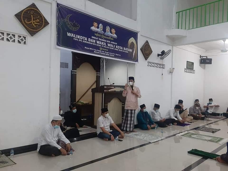 Safari Ramadan Pertama, Amsakar Berbagi Cerita Saat Terpapar Covid-19