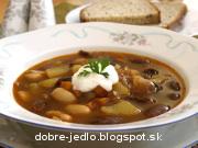 Terchovská fazuľová polievka - recept