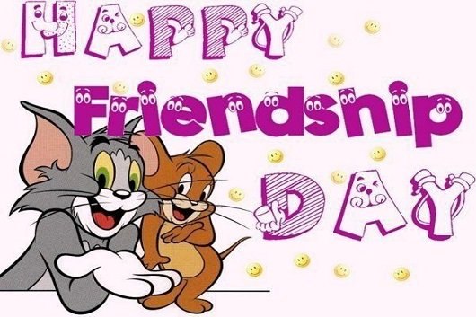 happy friendship day image Tom and Jerry