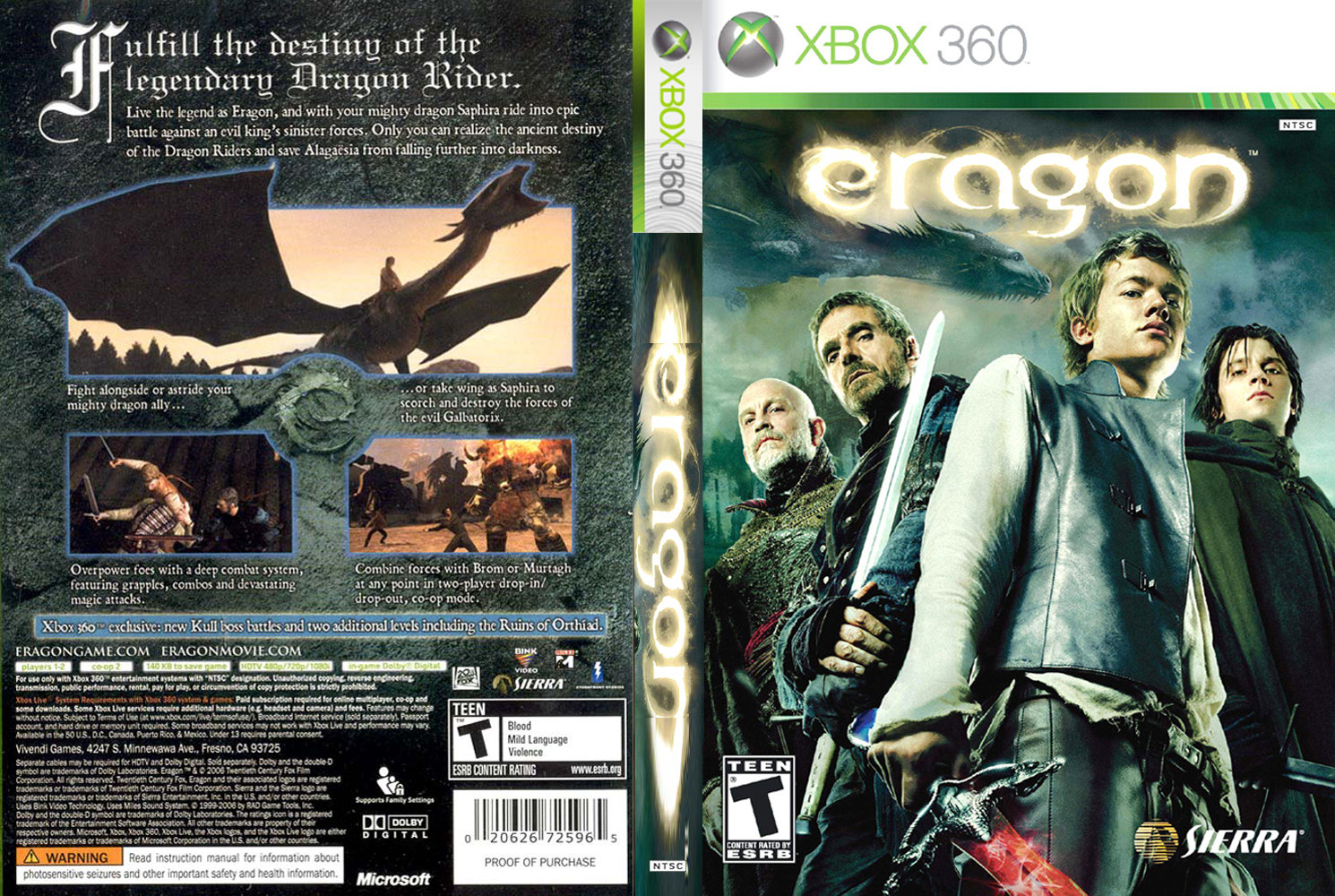 Eragon review / preview for xbox (xb).