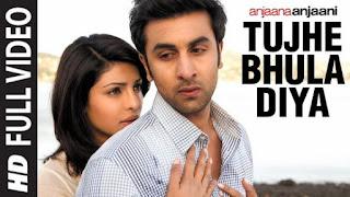 Tujhe Bhula Diya Lyrics Anjaana Anjaani | Ranbir x Priyanka