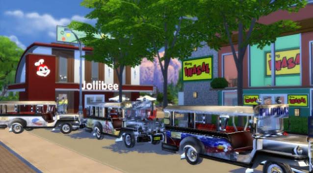 Sims 4 Pinoy Stuff Pack Jeepney Terminal