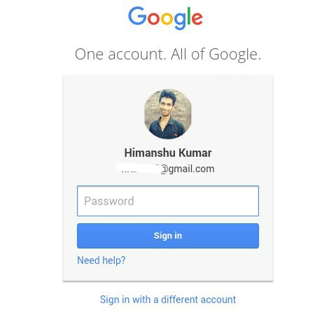 gmail password daalkar google search console me login kare