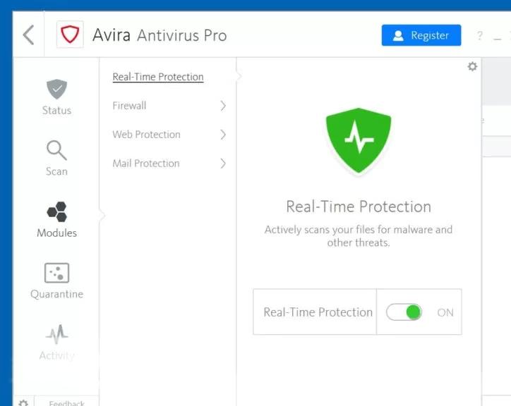 antivirus avira gratuit 2011 01net