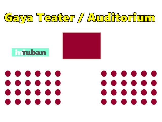 Gaya Teater / Auditorium