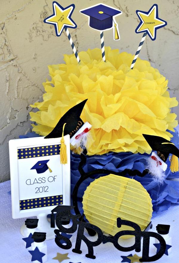 Graduation Free Printable Kit 2014 - BirdsParty.com