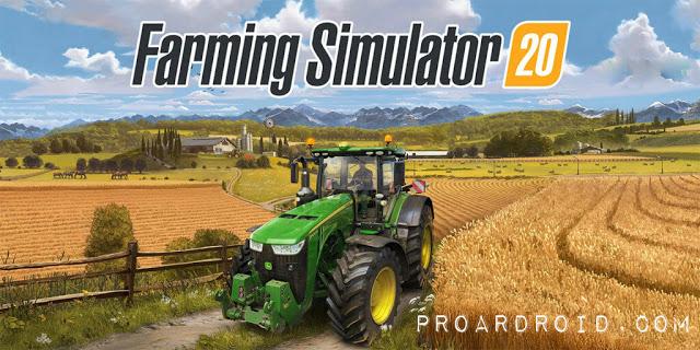 تحميل لعبة Farming Simulator 20 كاملة للأندرويد (اخر اصدار) logo