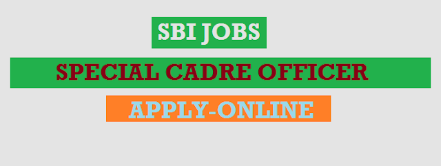 SBI Recruitment 2018 | Apply Online For 13 Specialist Cadre Officers Posts