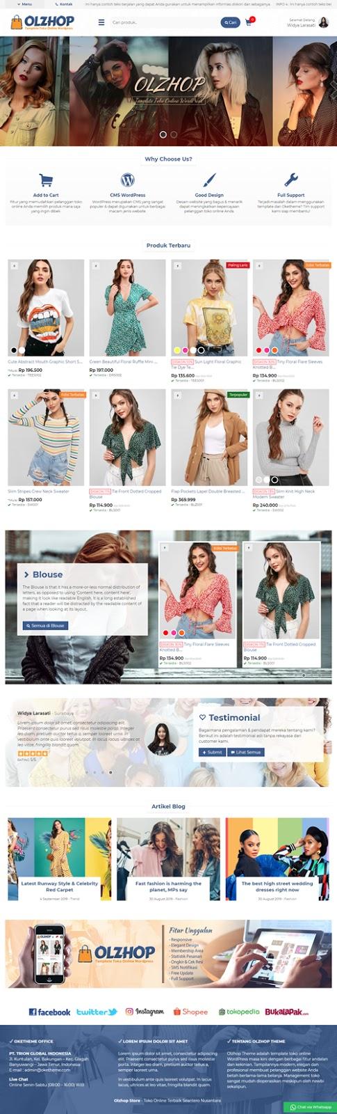 Jasa Design Toko Online Pro Termurah | Menuu.id