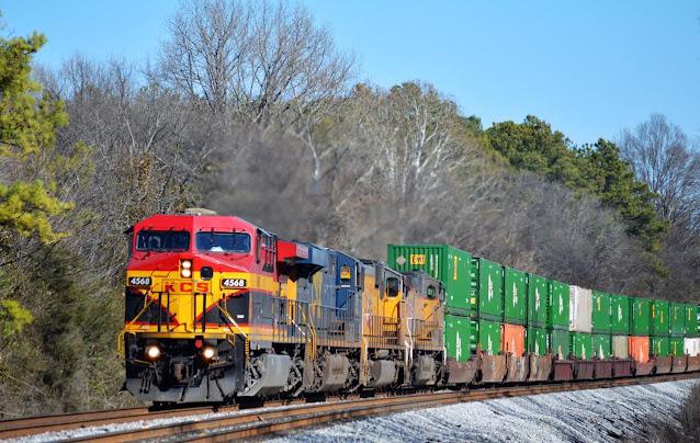 Disminuyó 3.17 por ciento el servicio de transporte ferroviario de carga por impacto de COVID-19