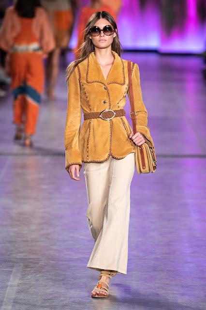 Alberta Ferretti runway fashion SS20 trends be fashion blogger Kelly Fountain