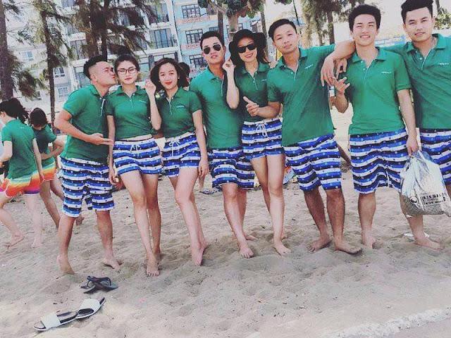 Tìm kiếm thiết kế đồng phục đi biển đầy màu sắc