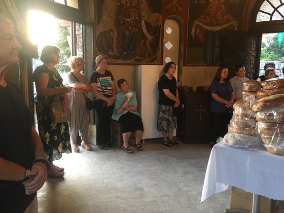Παραμονή Δεκαπενταύγουστου 2019 στον ιερό ναό της Παναγίας στη Στυλίδα
