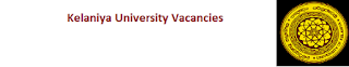 Kelaniya University Vacancies